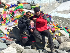Steve Lovitt Mt Everest Basecamp